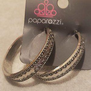 Paparazzi Hoop Earrings.